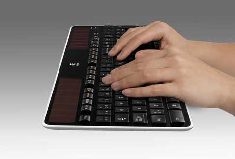 Logitech Launches Solar Powered Keyboard In India
