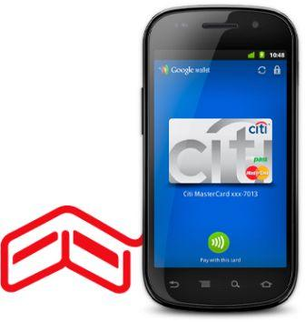 Google mobile Wallet with NFC