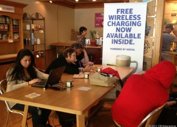 wireless charger in cbtl