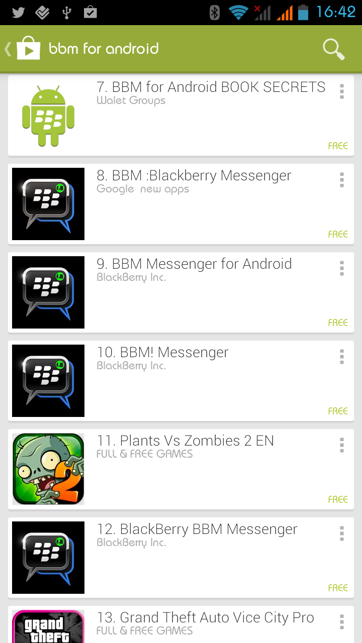 Store Fake For Play Bbm Be Applications Warned Google Flood Android
