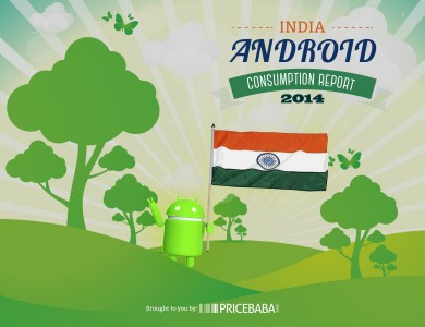 PriceBaba's Android Consumption Report for India: Jelly Bean Rules with 52%