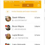 Ringo: An International Calling App That Works Without The Internet