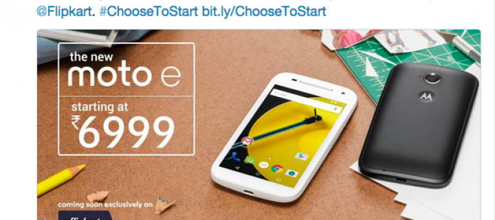 Moto E (2nd gen) 3G Variant To Be Launched In India For Rs. 6,999