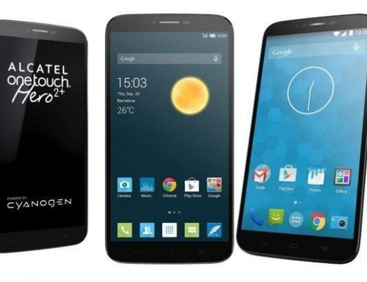 Cyanogen OS Based Alcatel OneTouch Hero 2+ Launched At MWC 2015