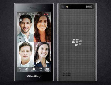 Blackberry Launches Blackberry Leap; Hints Curved Display Device at MWC 2015
