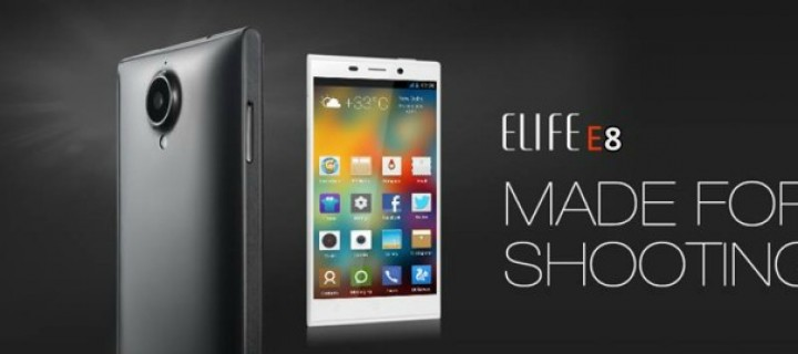 Gionee Elife E8 Rumored To Feature 23MP Camera
