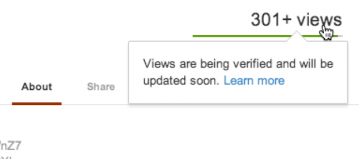 The famous 301+ Views Limitation of YouTube is Now Gone!