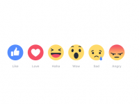 Facebook Takes Facebook 'Like' to the Next Level and Adds Reactions