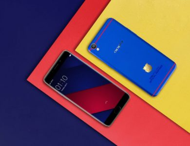 Oppo Announces a new Barcelona Themed Oppo F1 Plus