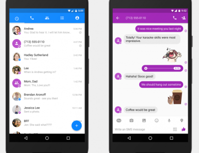 Facebook Messenger Gets SMS Support on Android