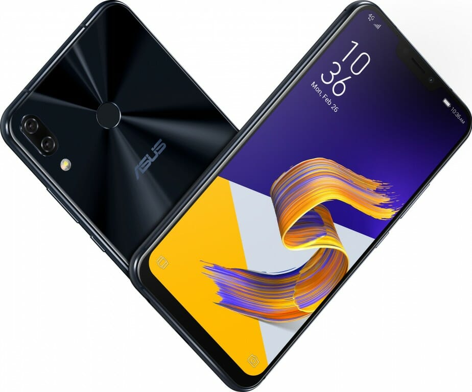 ASUS ZenFone 5, 5Z Front and Rear