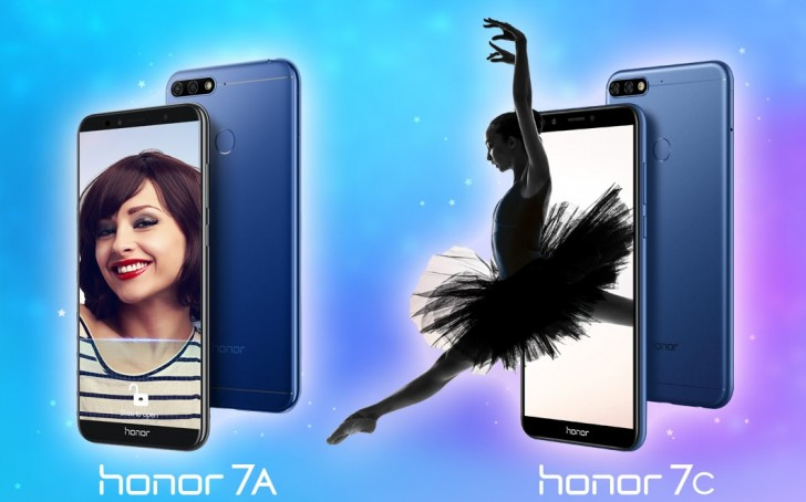 Honor 7A and Honor 7C for India