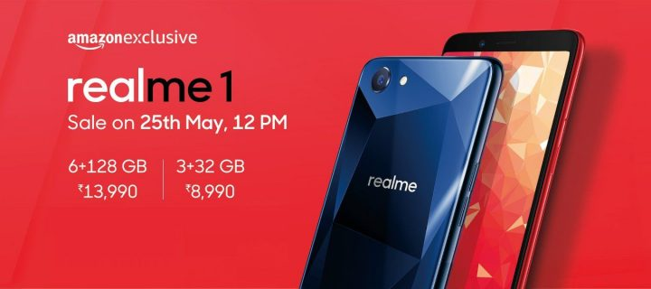 Oppo Realme 1 Officially Launched with AI Selfie Camera, Helio P60 for Rs. 8,990