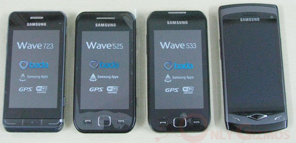 Hands-on with Samsung Wave 533 / 525 & 723. Posted by: Annkur