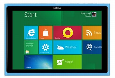 Nokia Lumia Windows 8 Tablet