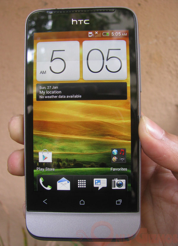 HTC One V with ICS