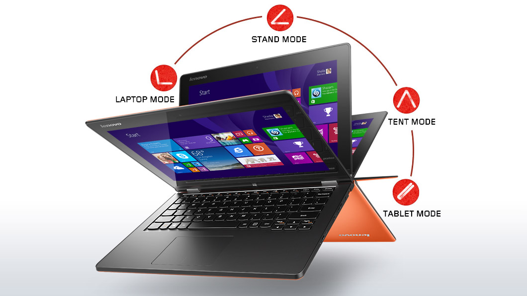 lenovo-laptop-convertible-yoga-2-11-inch-orange-front-modes-1