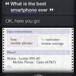 """Nokia Lumia is the Best Smartphone Ever"": Siri"