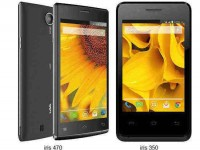 Lava Launches Budget Smartphones: Iris 350 and Iris 470