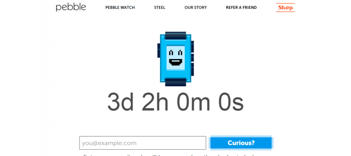 New Pebble Smartwatch Coming Soon