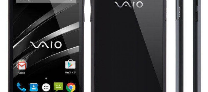 Vaio Enters The Smartphone Market By Launching Vaio Phone
