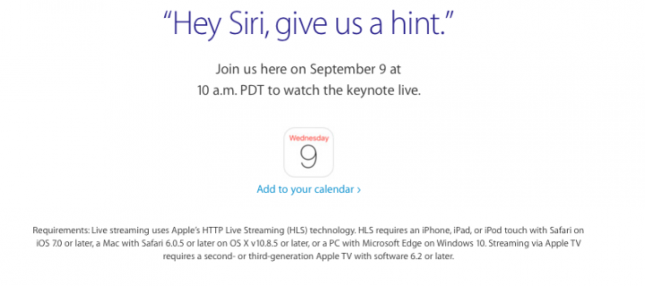 How to Watch the Apple Launch Event of the iPhone 6s in India?
