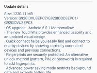 Samsung Galaxy S6 in India Receives Marshmallow Update