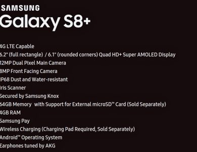 Samsung planning a 6.2″ display for Galaxy S8+?