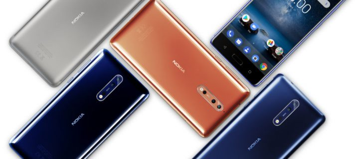 Nokia 8 Unveiled: Snapdragon 835, 2K Display & Dual Cameras With 'Bothie' Mode
