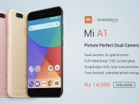 Xiaomi Mi A1 is Official with Topnotch Dual Cameras, Premium Design, Stock Android