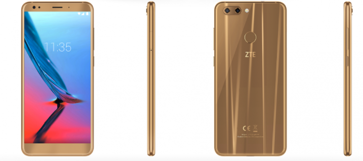 Blade V9 is ZTE's Full Screen Design Phone