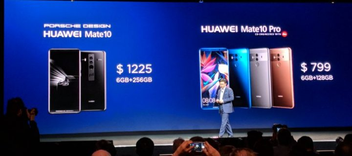 Huawei Mate 10 Pro, Mate 10 Pro Porsche Design Arriving in the U.S. Markets in February