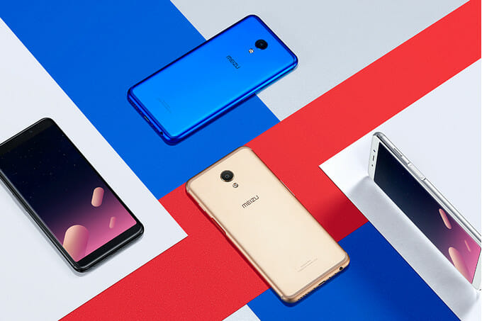 Meizu M6S Color Variants