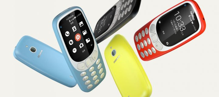 Nokia 3310 4G is Official with Support for 4G VoLTE, Wi-Fi