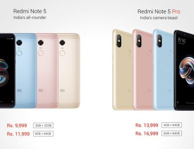 Xiaomi Redmi Note 5, Note 5 Pro Arrives with 18:9 Display, SD 625/636, Stunning Cameras