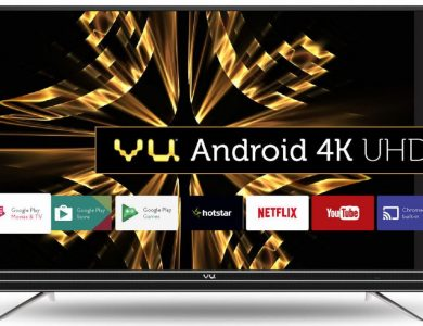 Vu Unveils 55, 49 and 43-inch 4K UHD Official Android TV Series