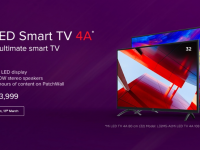 Xiaomi Mi TV 4A 32-inch and 43-inch Variants Launched with Rs. 13,999 and Rs. 22,999 Pricing